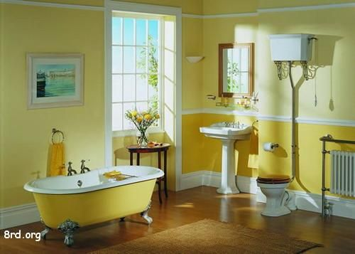 Awesome Kids Bathroom Design To Make The Hy Mid Century Yellow Decoration With