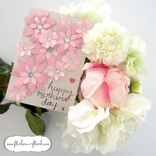 Pretty easy diy paper flower card ideal for mothers day or even pretty easy diy paper flower card ideal for mothers day or even a wedding mightylinksfo