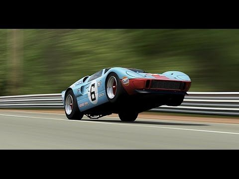 Ford Gt40 Acceleration Review Youtube In 2020 Ford Gt40 Ford Gt Classic Racing Cars