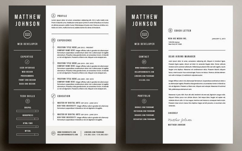 Cover Letter Template Illustrator | Cover Letter Template ...