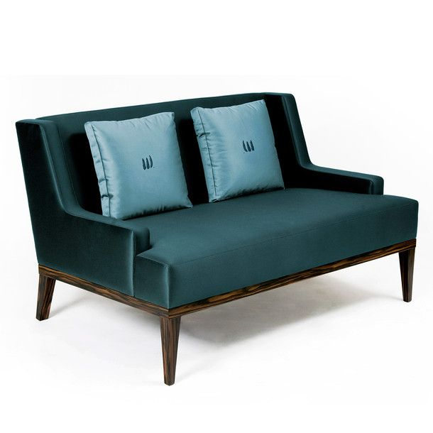Teal velvet sofa with  high contrast grained wood different pillows please also rh au pinterest
