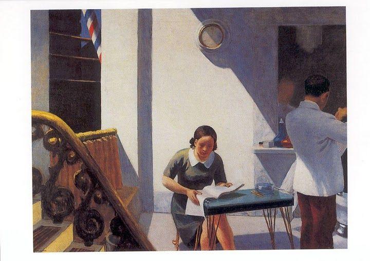 Edward Hopper ~ The Barber Shop ~ 1931