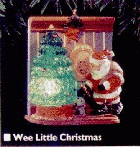 Wee Little Christmas Light  Motion Magic 1995 Hallmark Ornament QLX7329 *** Want to know more, click on the image.