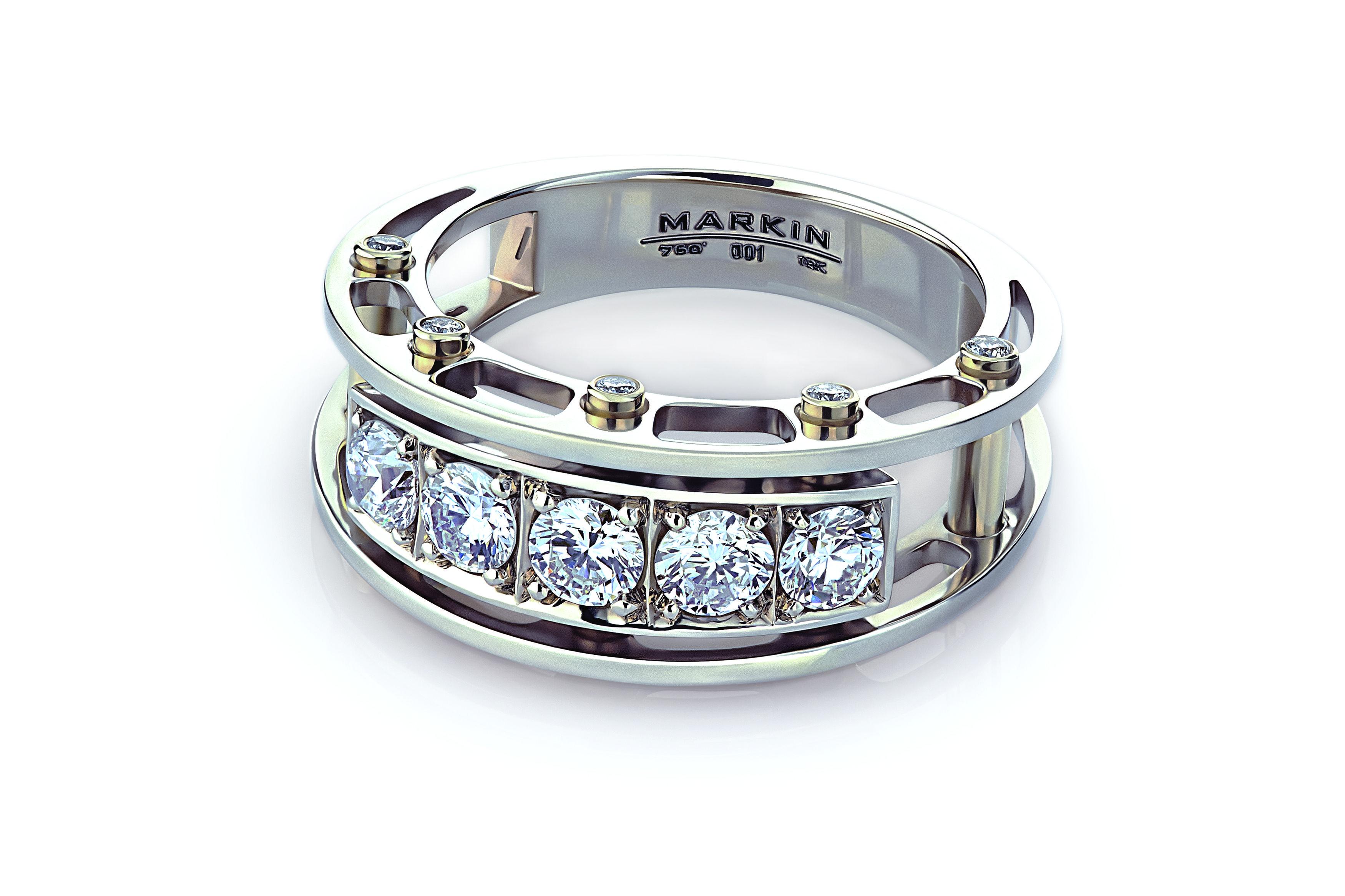 Arch Bridge ring Hot jewelry
