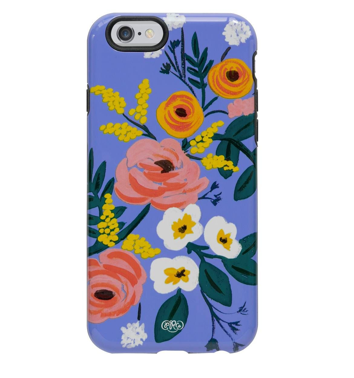 Rifle Paper Co  Violet Floral  Protective Iphone Cover  Prints