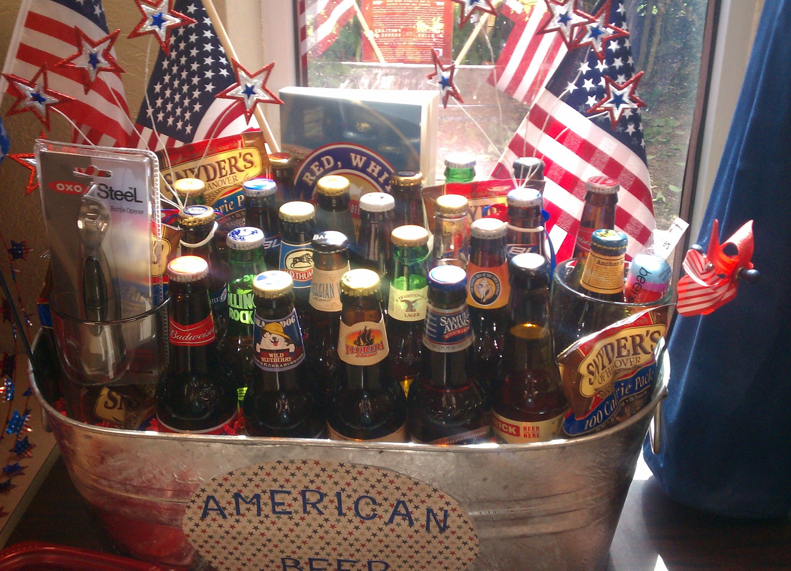 American Beer Basket