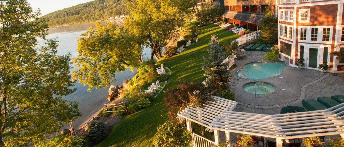 Lake Winnipesaukee Hotels Mill Falls Meredith Nh