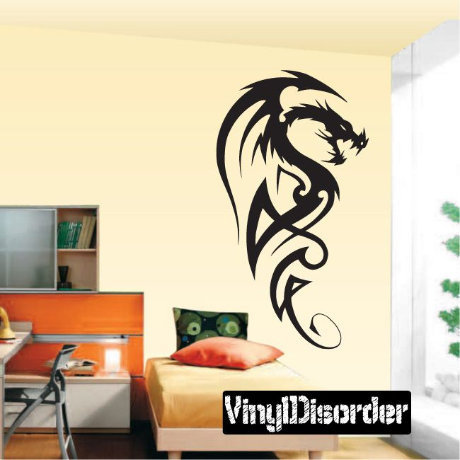 Dragon Wall Decal - Vinyl Decal - Car Decal - DC298
