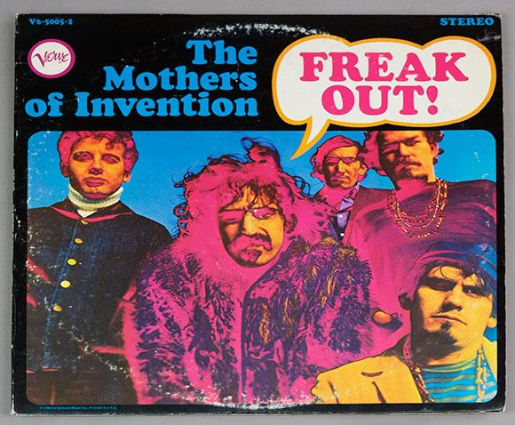 Album Front Cover Photo Of Mothers Of Invention Freak
