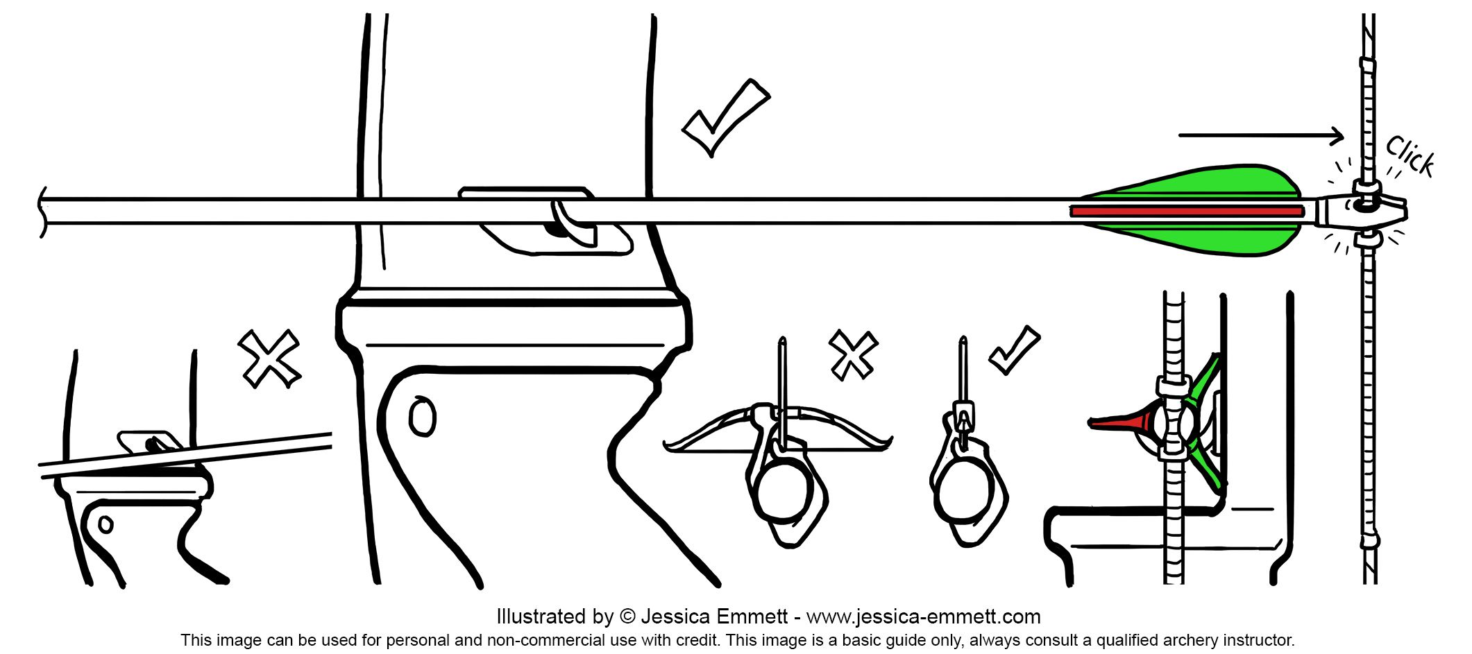Beginners Recurve Nock Arrow Guide 2 121 943 Pixels