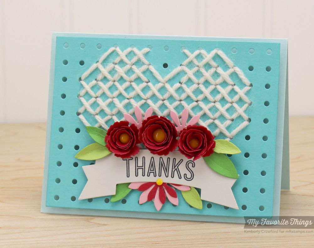 Happy 10th Anniversary Mft Stamps Class Class Paper Crafting And