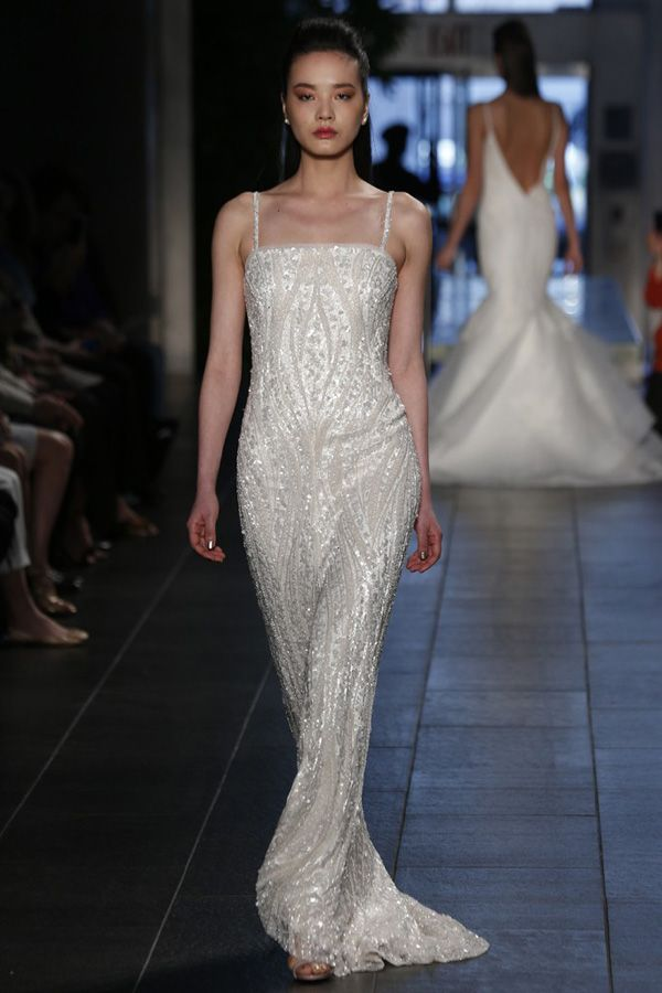 Top Wedding Dress Trends Spring 2014 Bridal Market