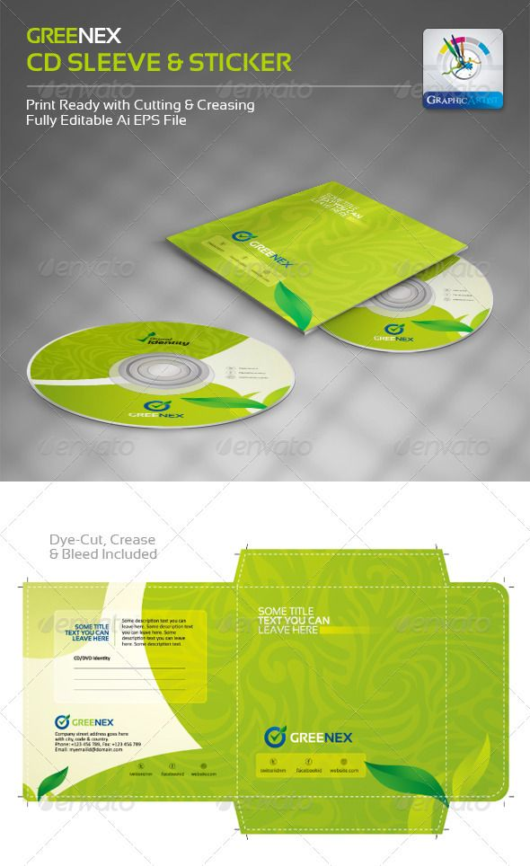 15 creative cd and dvd sleeve and sticker template designs http