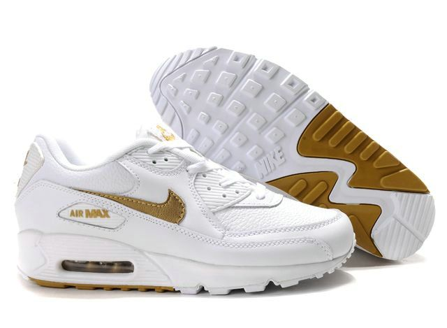 where to buy nike air max 90 weiß and gold c27cd b0383
