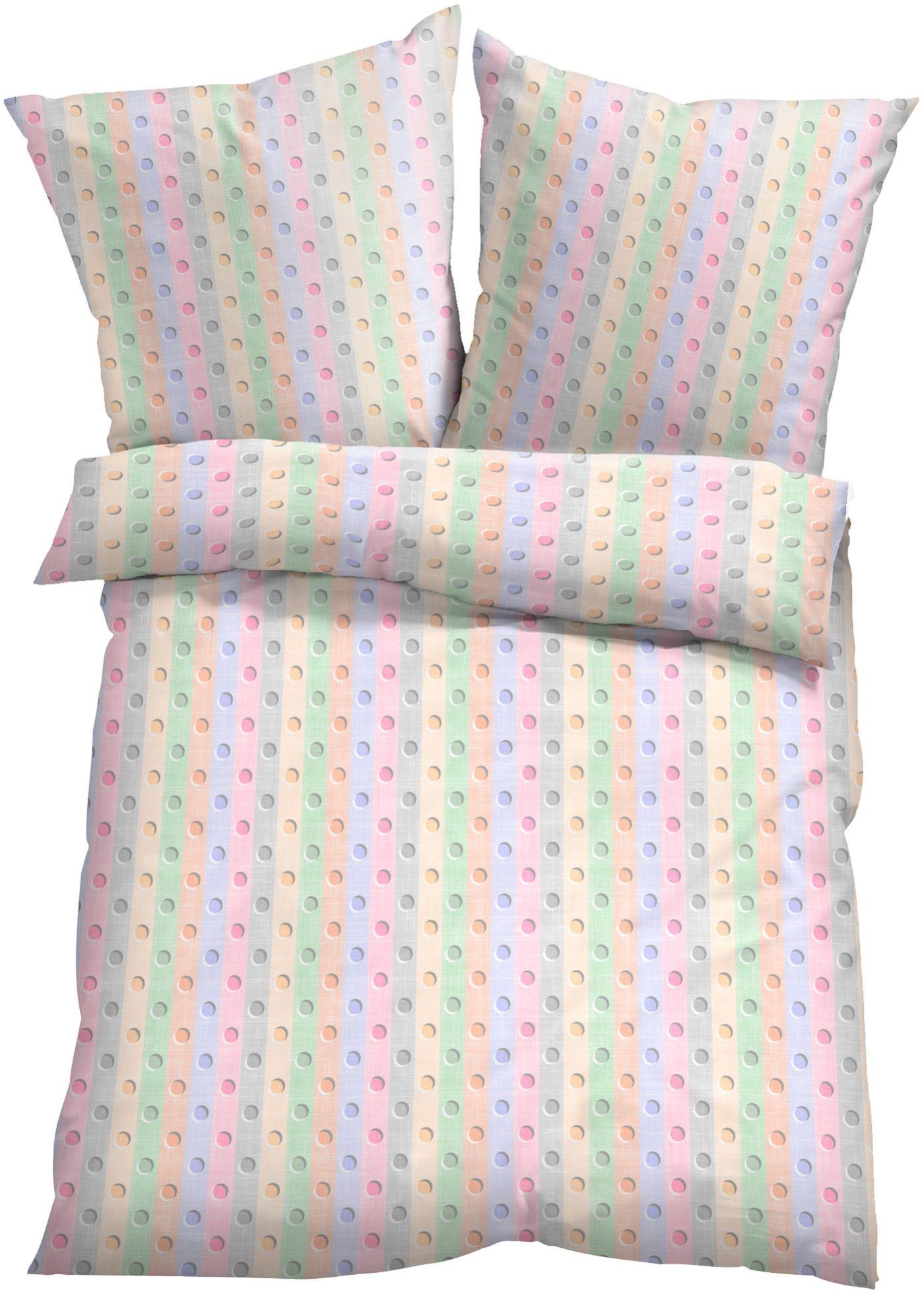 Bettwasche Punktchen Linon Bett Kissen Bettwasche Und Bett