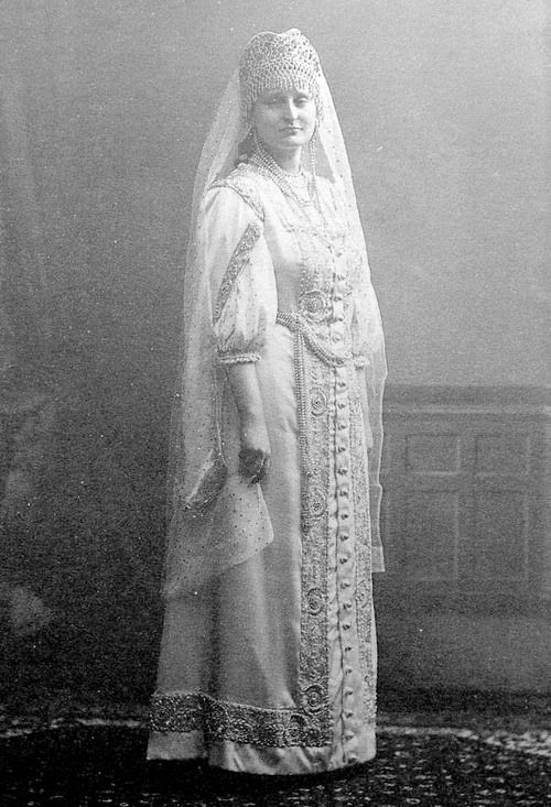 "Countess Anastasia Hendrikova. Hendrikova, who was nicknamed ""Nastinka,"" was the daughter of Count Vassili Alexandrovich Hendrikov, Grand Master of Ceremonies of the Imperial Court, and his wife, Princess Sophia Petrovna Gagarine. She was a descendant of the sister of Catherine I of Russia, the wife of Peter the Great. Hendrikova was appointed a lady of waiting in 1910. She acted as a ""sort of unofficial governess"" to the four grand duchesses."