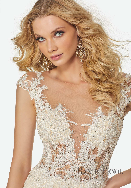 Randy Fenoli Bridal, Jasmine Wedding Dress Style 3407
