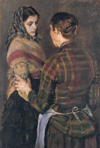 Christian Krogh 1852 1925 Ulddat Scandinavian Art Christian Art Costume