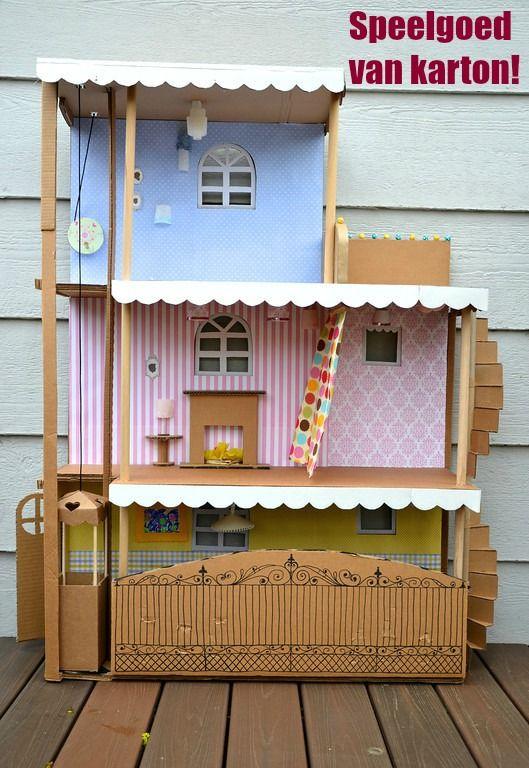In iedere supermarkt kun je dozen gratis meenemen. Je kunt deze heel mooi gebruiken om samen met je kind hier mee te knutselen. Daarna kan je kind zich zelf er nog de hele dag mee vermaken. Kijk voor meer inspiratie op www.budgi.nl #dozen #kinderen #creatief #speelgoed #karton