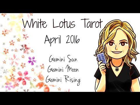 ♊ Gemini free Tarot Card Reading & Psychic Intuitive Life Coaching April 2016 - YouTube
