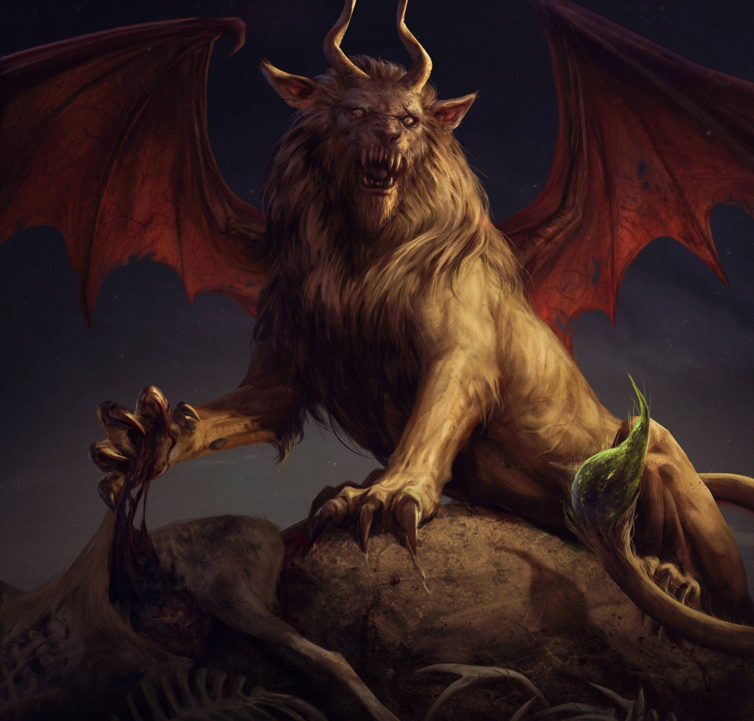 ♛ The Manticore ☯ Avatar
