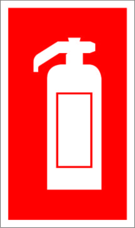 Extinguisher Symbol 099 Signs Fire European Safety Signs