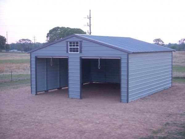 24x40 A Frame Metal Buildings Shed