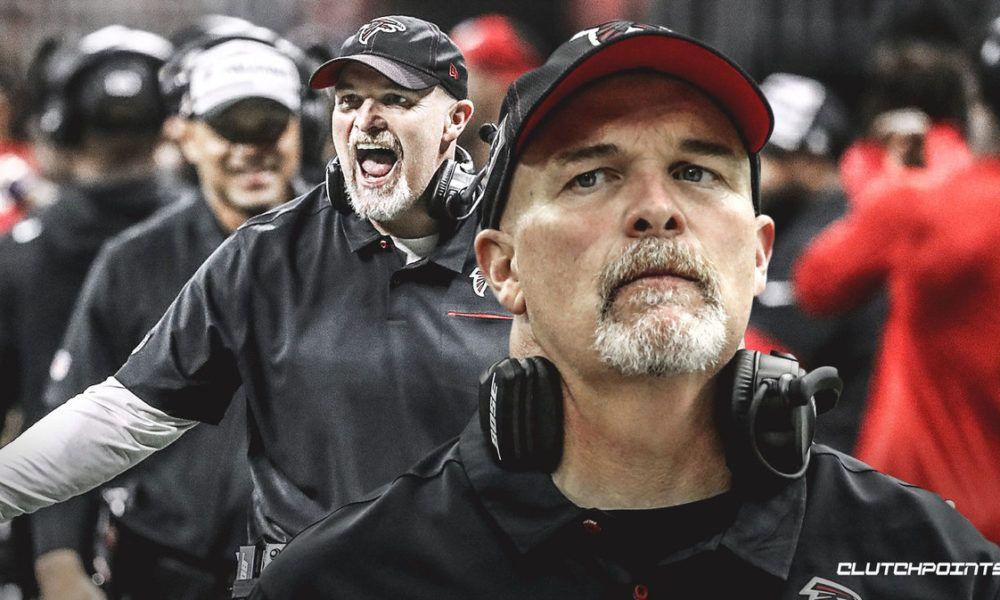 Dan Quinn Reacts To Falcons Committing To Him In 2020 Quinn Dan Falcons
