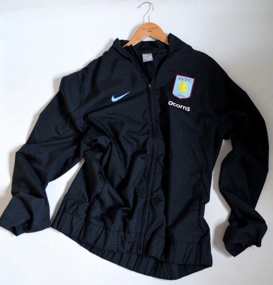 mens NIKE Aston Villa FOOTBALL TRAINING tracksuit JACKET zip