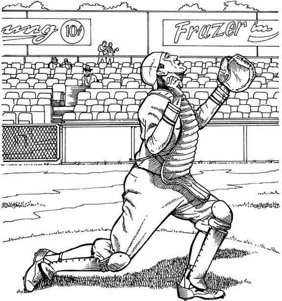 i got it baseball coloring page
