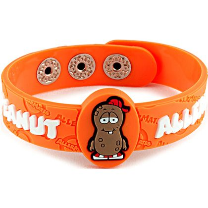 Peanut Allergy Wristband By Allermates The Children S Lifestyle Fudge Kids Uk