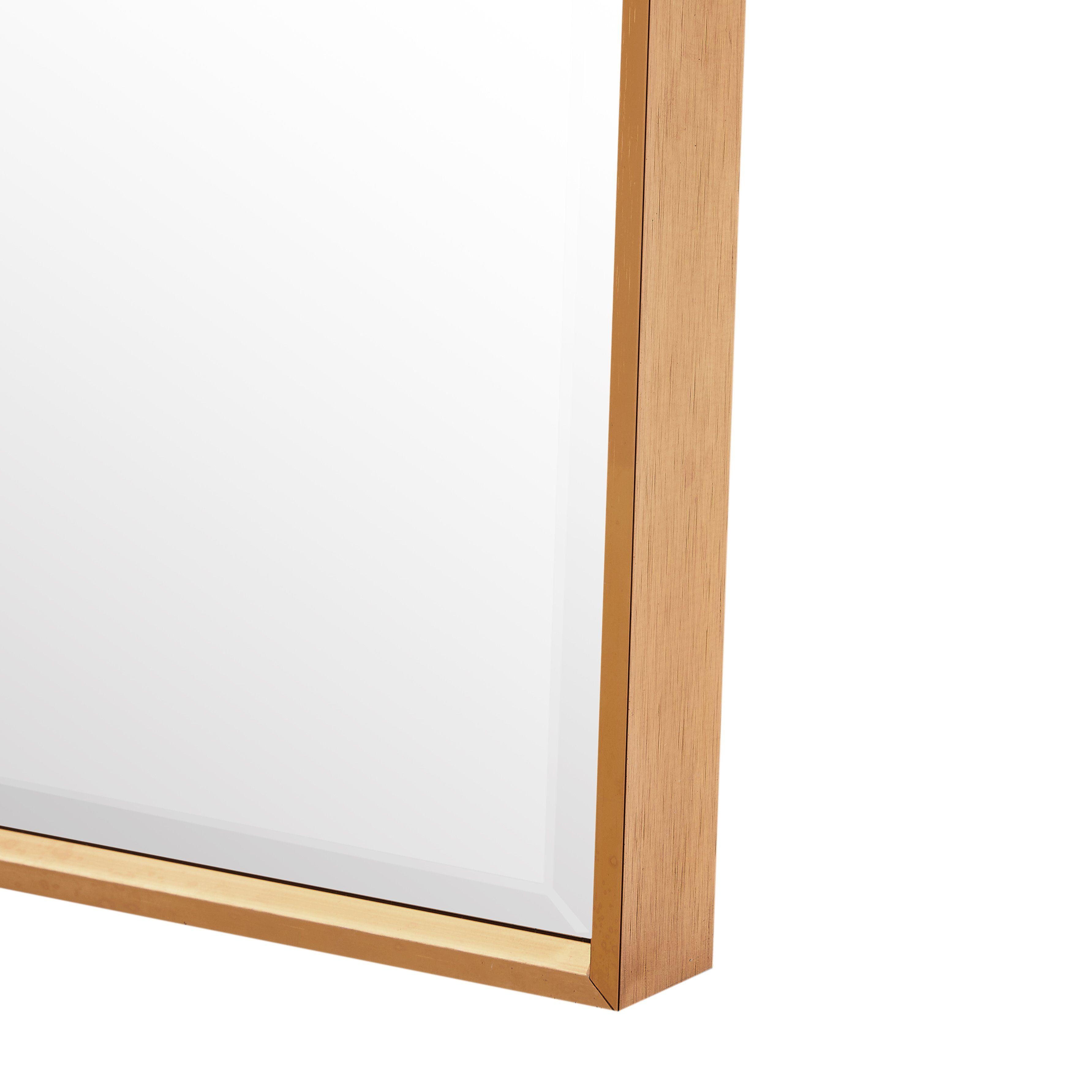 Photo of Aluminum Frame Bath Room Mirror-Gold