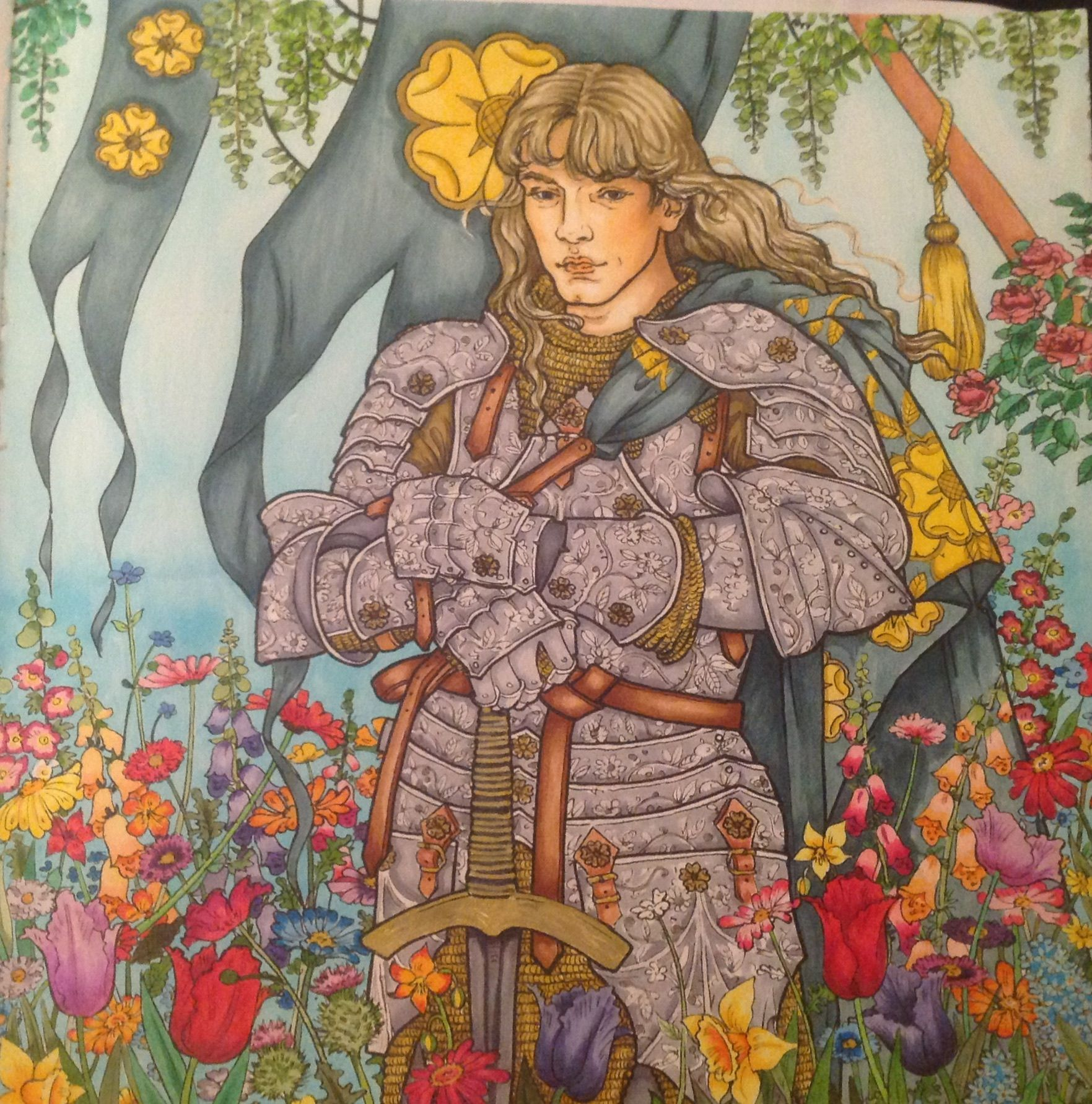 Copic Coloring Game Of Thrones Coloring Book Colored By Sonya Sena