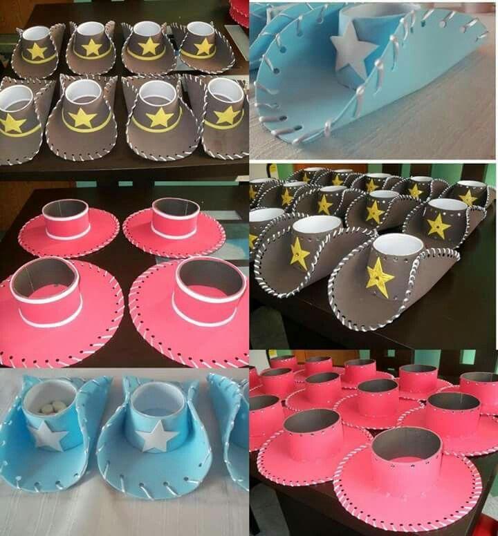 Sombreros fiesta accesorios pinterest fiestas toy - Decoracion de sombreros ...