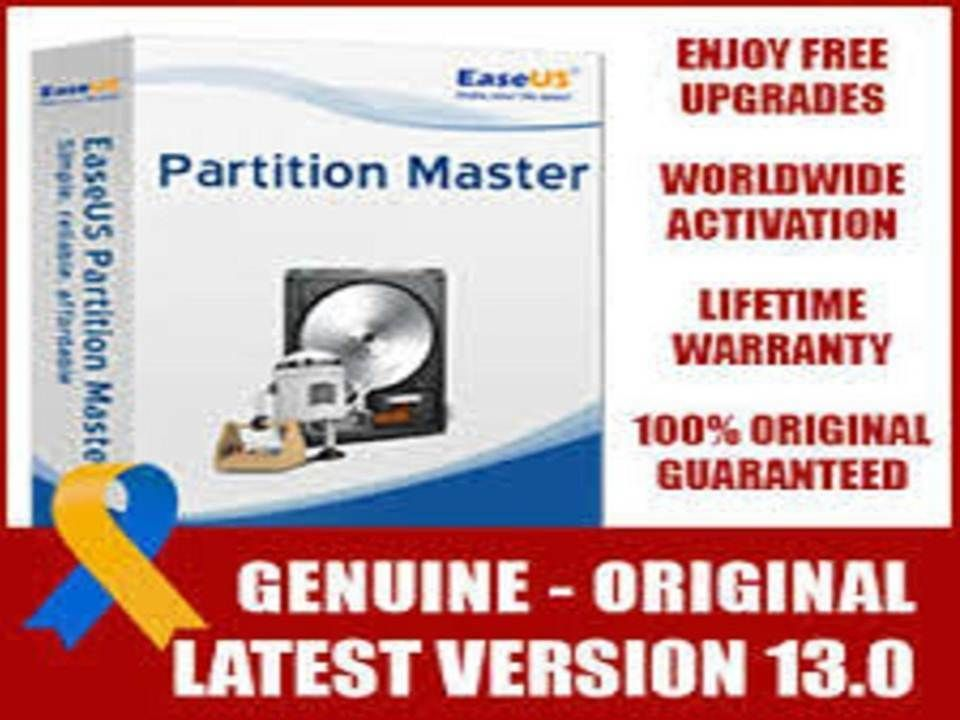 EASEUS Partition Master 13 License Code latest version