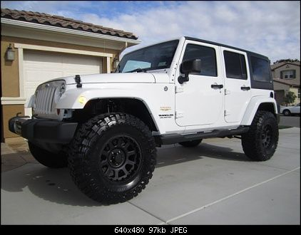 Jeep Jku 25 Lift 35 Tires