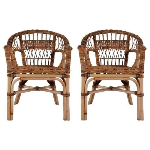 Photo of Outdoor Chair Natural Rattan Brown – 2