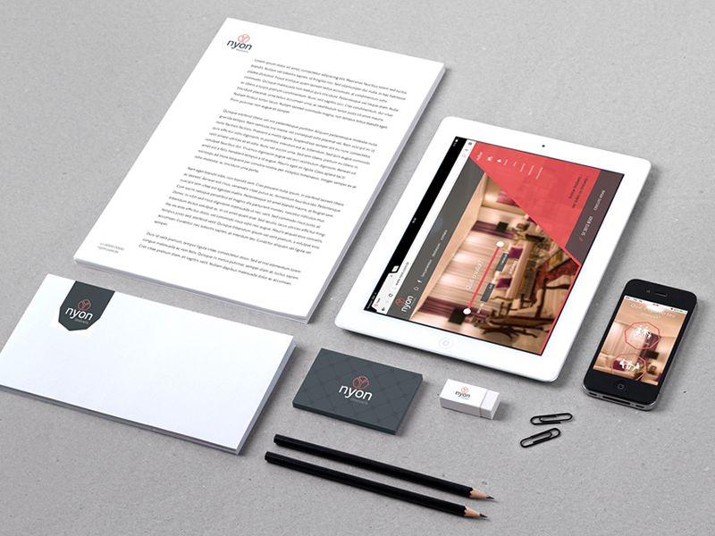 Nyon Branding Part 2 Branding Nyon Creative Professional