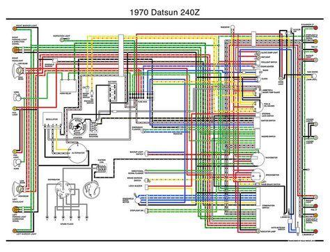 1970 Datsun 240z Wiring Diagram Datsun Z Nissan