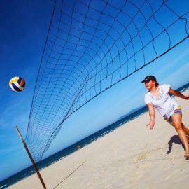 Weight Loss Retreat In Vietnam Beach Volleybal Dieting Done