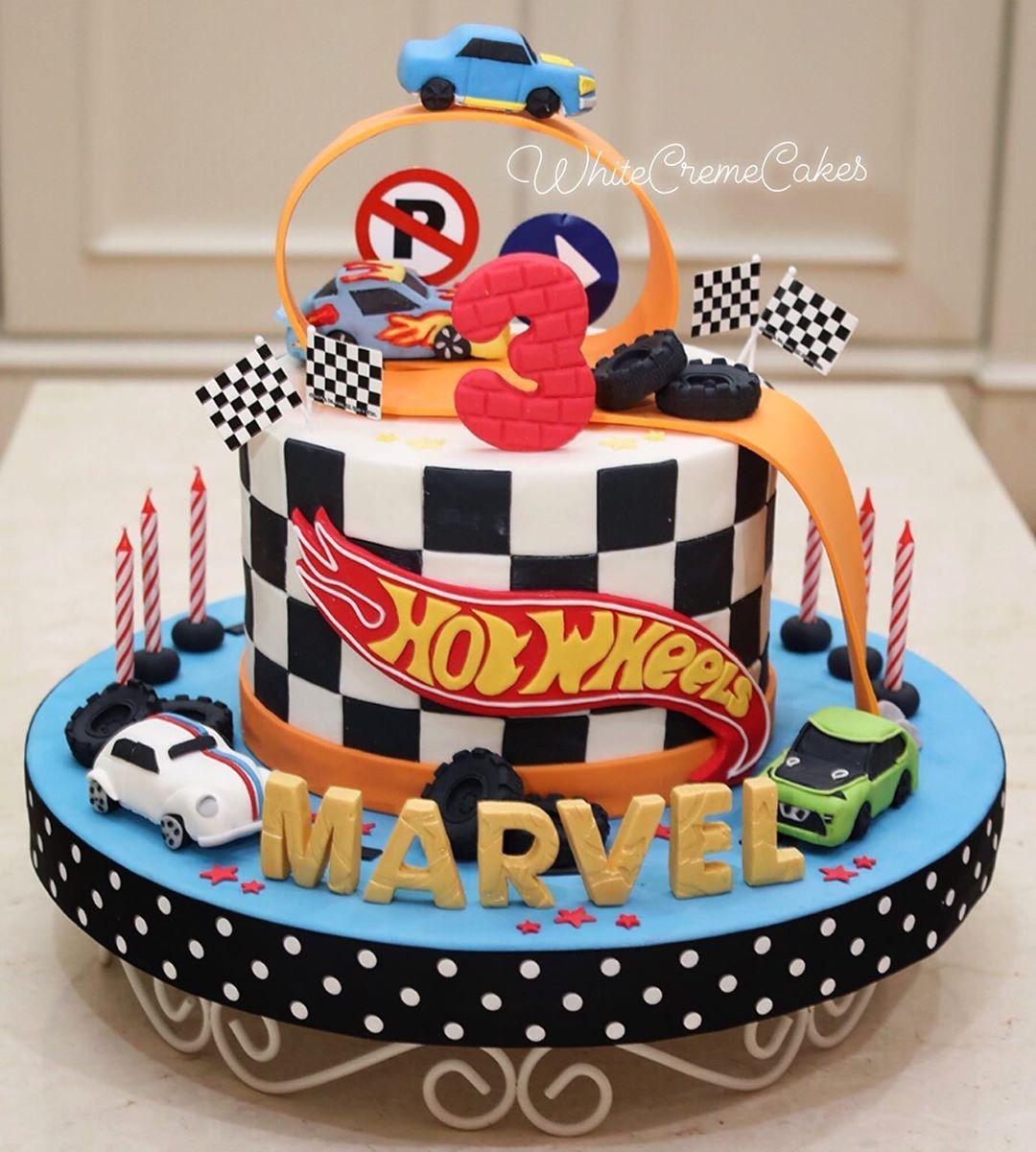 Pin Auf Hotwheels Birthday Party