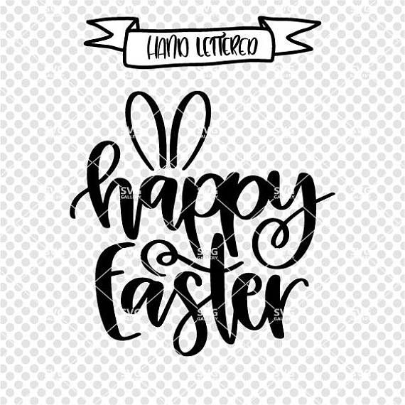 Easter SVG, Happy Easter svg, Hoppy Easter SVG, bunny svg, Easter bunny svg, Digital cut file, Easter svg file, bunny svg, commercial use
