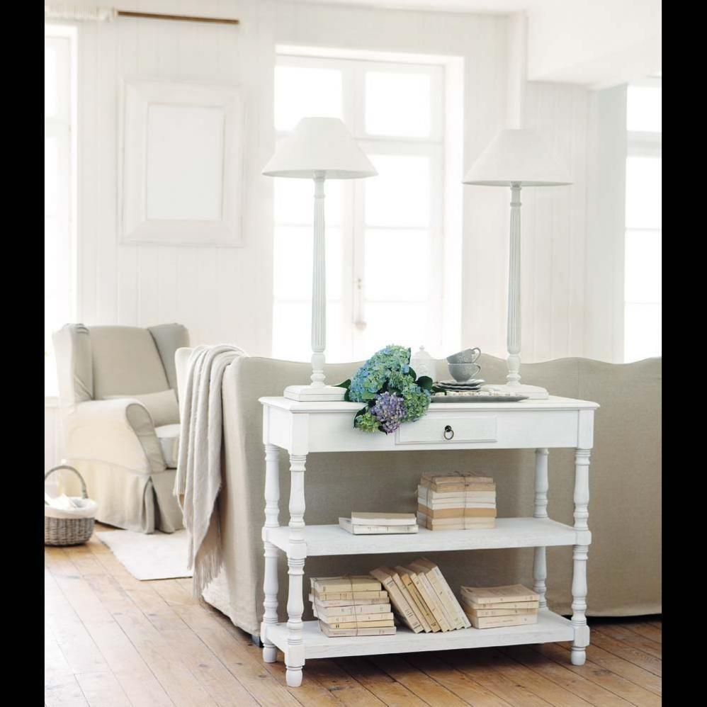 Epingle Par Astrid H Sur Home Decoration Deco Campagne Chic Table Console En Bois Mobilier De Salon Meuble Deco