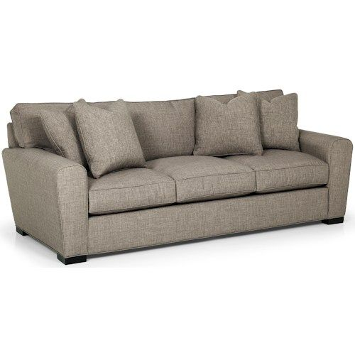 282 Casual Sofa With Loose Pillow Back By Sunset Home Stanton