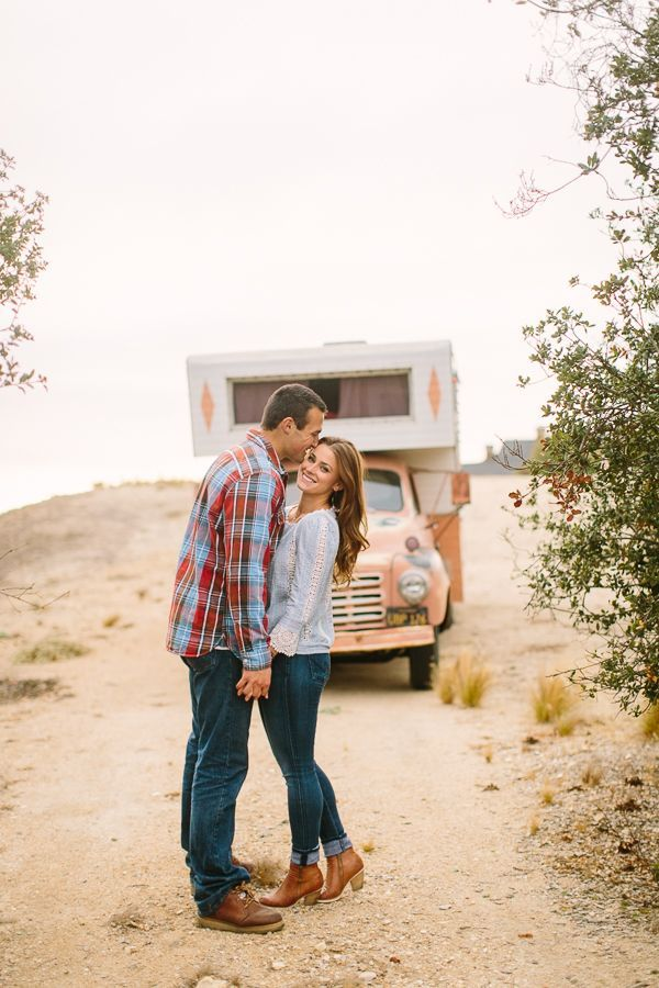 Fun Roadtrip Engagement Session by Danielle Capito Photography - Inspired By This