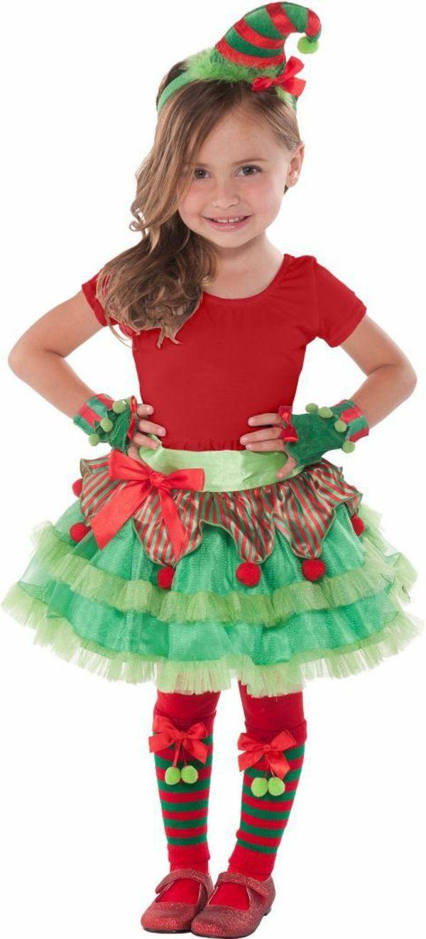 Kinderkostüme - Ideen für Kinderparty zu Weihnachten | Dekoration ...