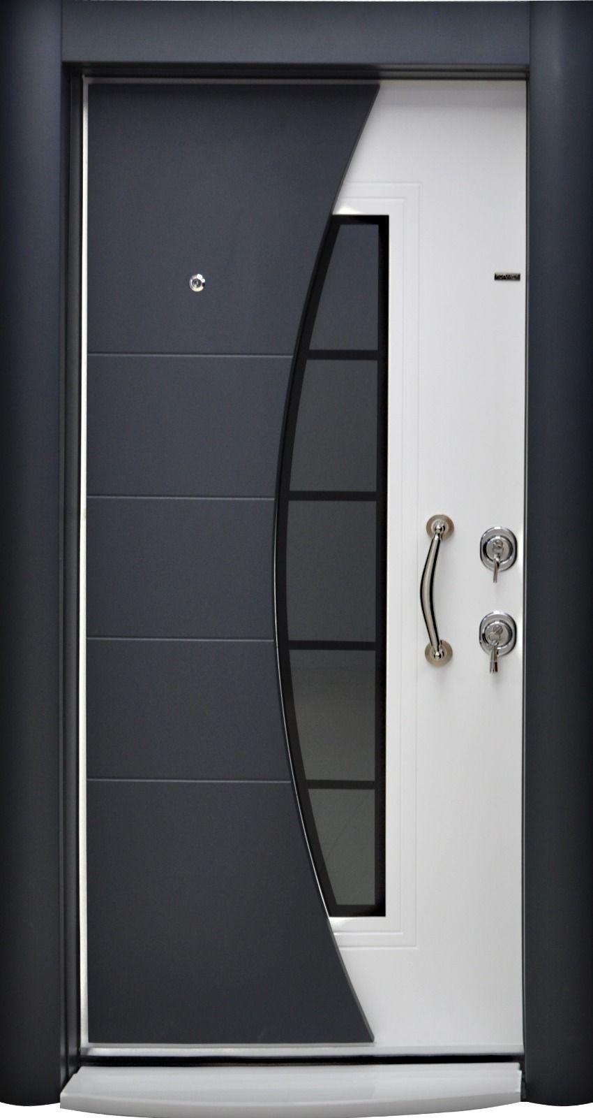 Puertas minimalistas de fierro