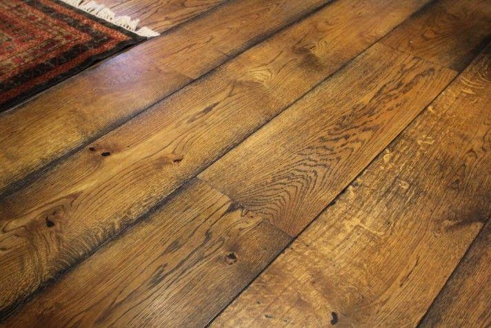 red oak engineered hardwood flooring as kitchen flooring options