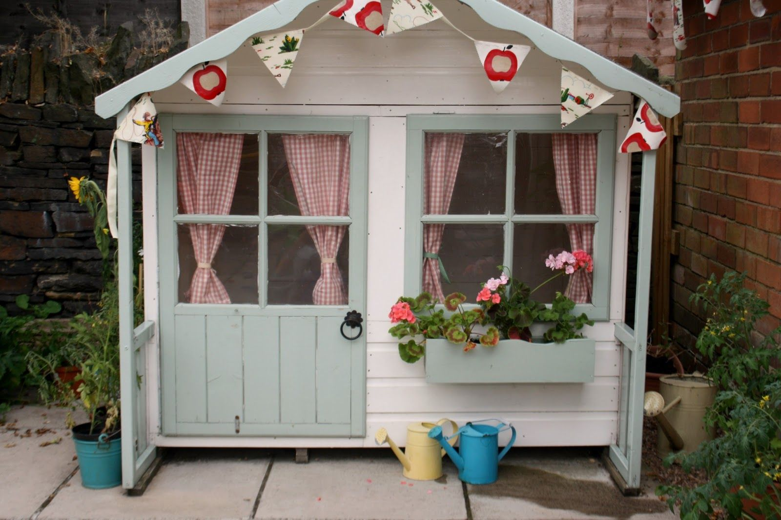 Home, Outdoor Playhouse For Kids Small Idea: Boost The Girlsu0027 Creativity  With Outdoor Playhouse For Kids Part 70
