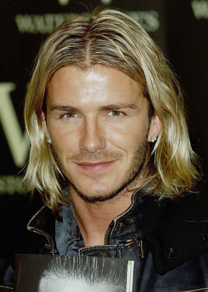 David Beckham David Beckham Hairstyle Long Hair Styles David Beckham